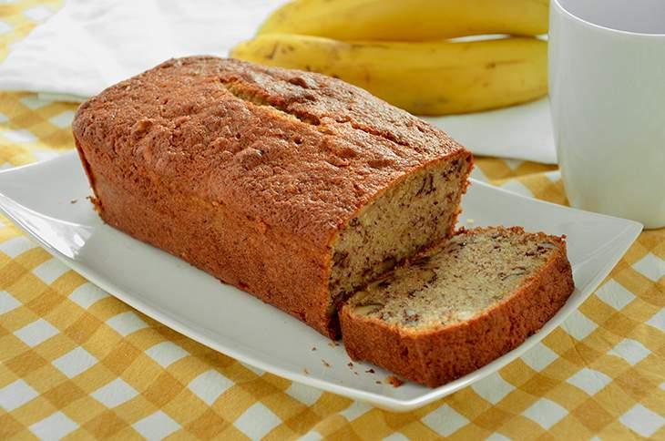 Plumcake alla banana (Banana bread)