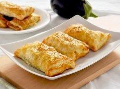 Fagottini melanzane e mozzarella