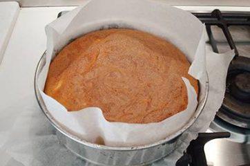 Torta al latte caldo (hot milk cake) 6