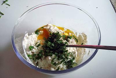 Torta salata ricotta e pomodorini 5
