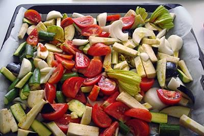 Torta salata alle verdure 6