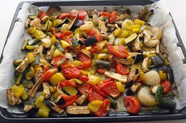 Torta salata alle verdure 7