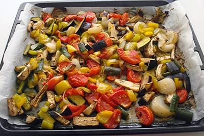 Torta salata alle verdure 8