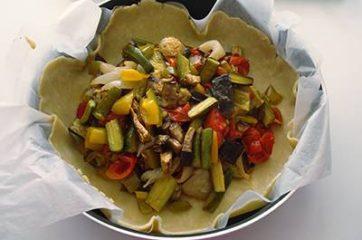 Torta salata alle verdure 9