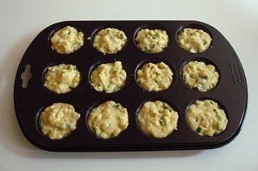Muffin zucchine e acciughe 7