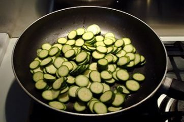 Pasta zucchine e gorgonzola 1