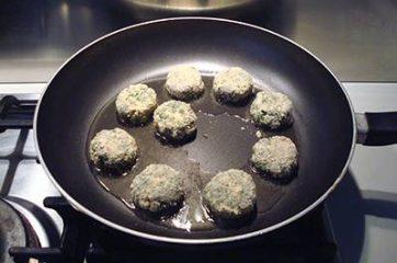 polpette di spinaci e tofu 8