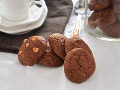 Biscotti al cacao senza glutine