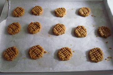 Biscotti al burro di arachidi 7
