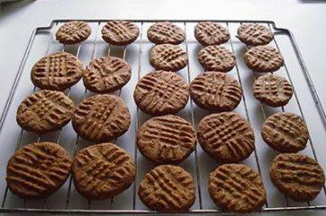Biscotti al burro di arachidi 8