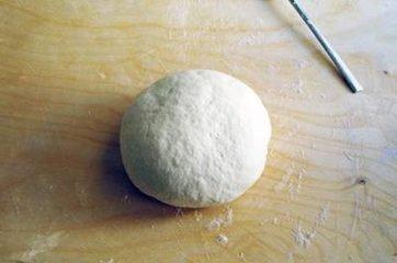 Focaccia funghi prosciutto e formaggio 4