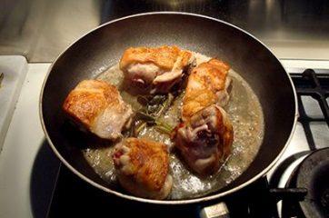 Pollo allo zafferano 4