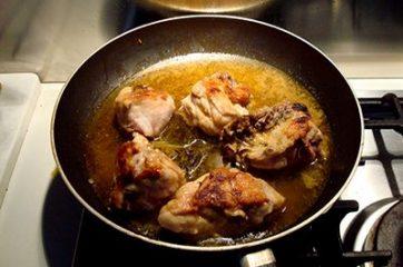 Pollo allo zafferano 5