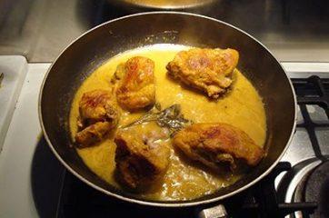Pollo allo zafferano 6