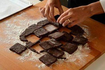 Biscotti al cioccolato 9