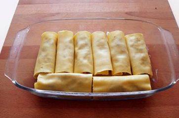 Cannelloni con ricotta e radicchio 15