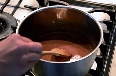 Procedimento Cheesecake al cioccolato - Passaggio 12
