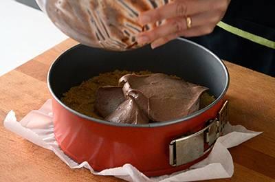 Procedimento Cheesecake al cioccolato - Passaggio 9