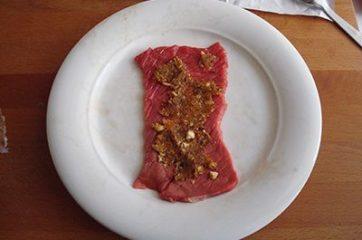 Involtini di carne con frutta secca 3