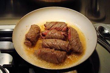 Involtini di carne con frutta secca 8