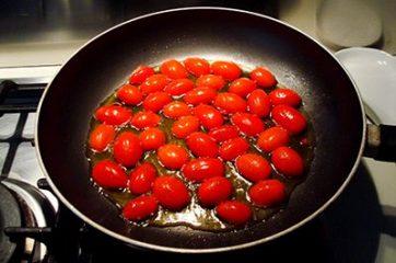 Pasta con baccalà e pomodorini 3