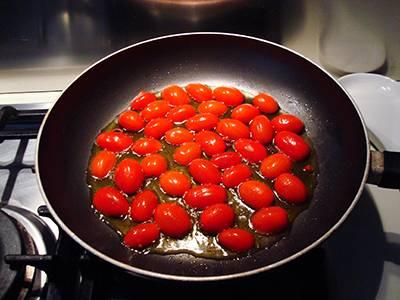 Pasta con baccalà e pomodorini - Passaggio 4