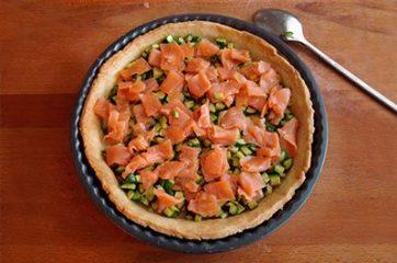 Quiche salmone e zucchine 13