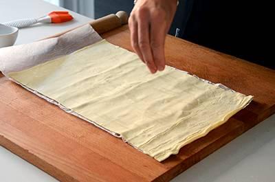 Procedimento Ventaglietti di pasta sfoglia - Passaggio 2