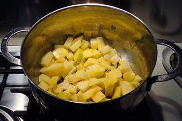Crema di patate con funghi 3