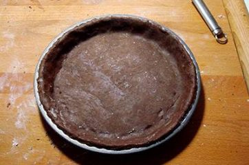 Crostata cioccolato e more 8