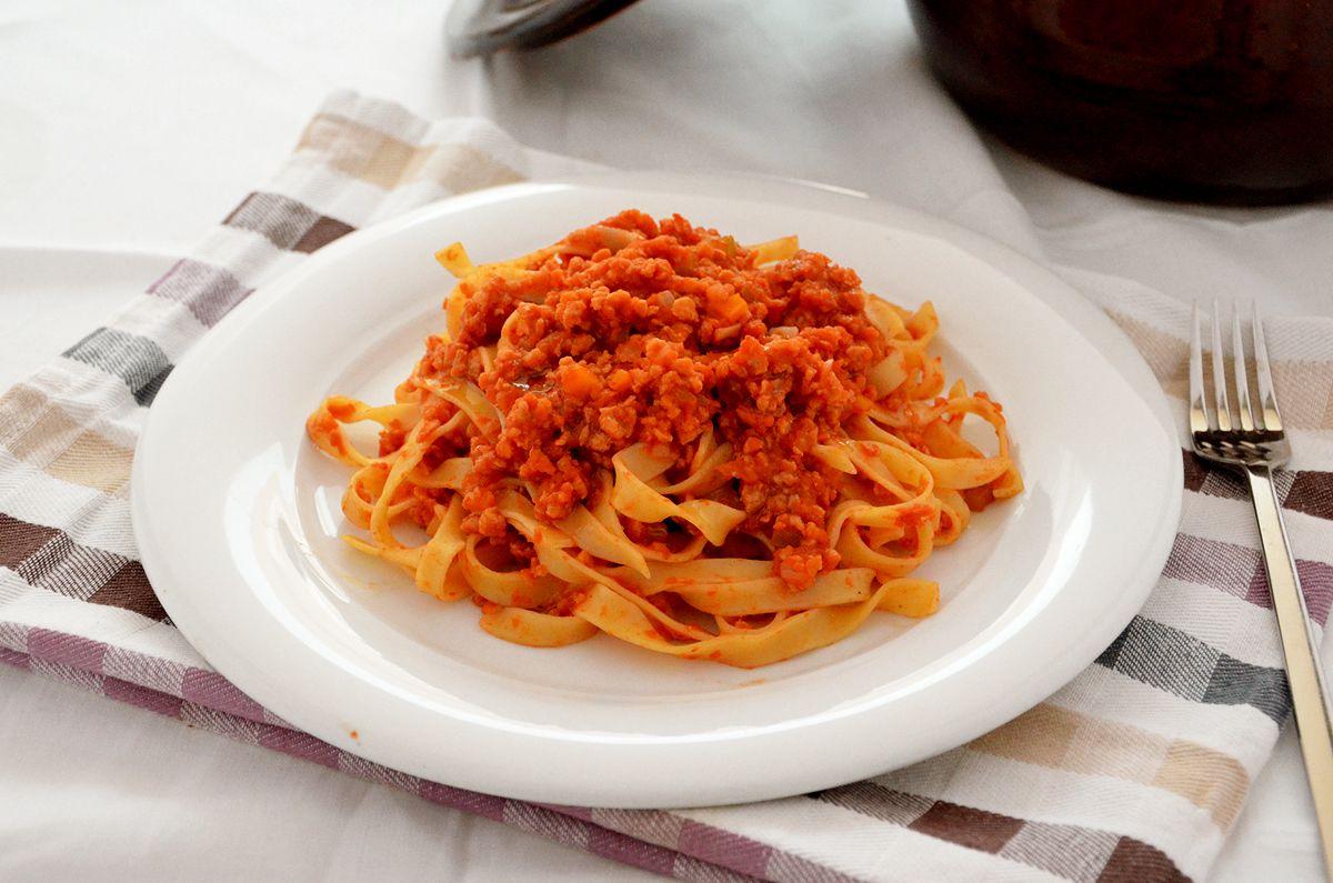Rag di soia la ricetta della cucina imperfetta for Lecitina di soia in cucina