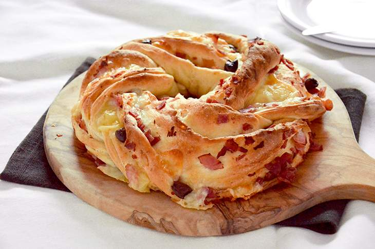 Torta Angelica salata