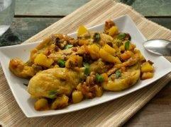 Pollo con patate e olive