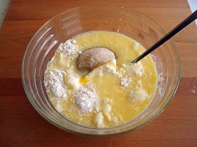 Muffin banana e cioccolato 3