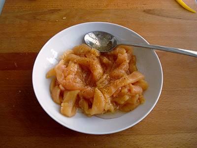 Fajita di pollo e peperoni semplice 3