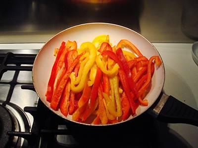 Fajita di pollo e peperoni semplice 4