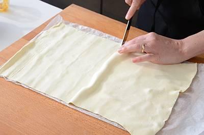 Ventaglietti di sfoglia salati 3