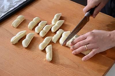 Ventaglietti di sfoglia salati 9