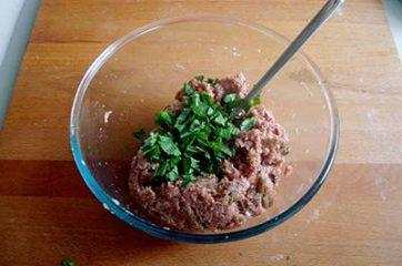 Polpette di carne e melanzane 6