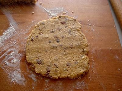 Biscotti con fiocchi d'avena e uvetta 6