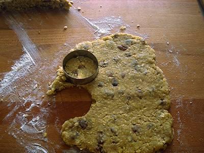 Biscotti con fiocchi d'avena e uvetta 7