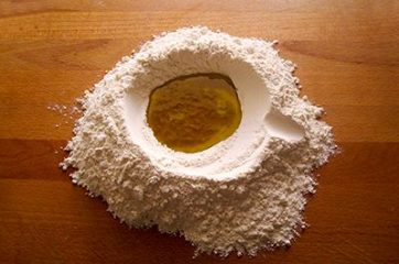 Focaccia con bietole, salsiccia e stracchino 1