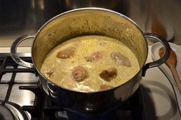 Spezzatino al latte di cocco e curry 5