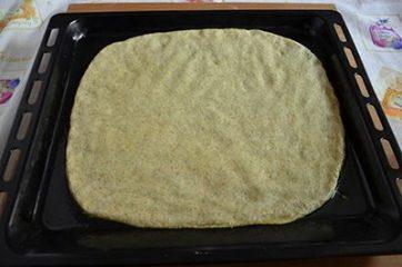 Focaccia integrale con pomodorini e olive 5