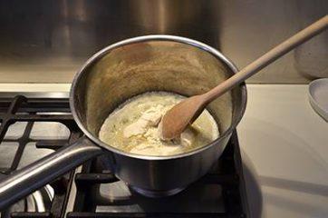 Pasta al forno bianca 2