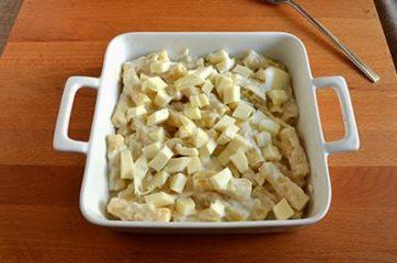 Pasta al forno bianca 7