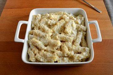 Pasta al forno bianca 8
