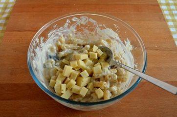 Pasta al forno con funghi e fontina 7