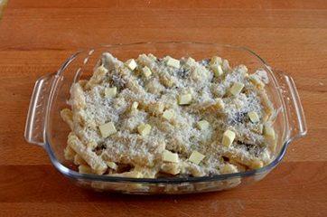 Pasta al forno con funghi e fontina 8
