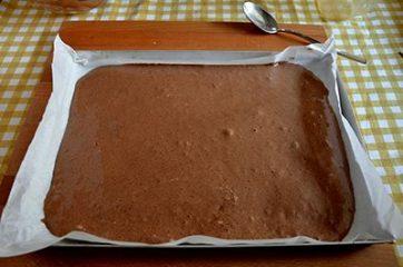 Rotolo al cacao con panna 5